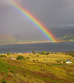 Rainbow over Kylerhea